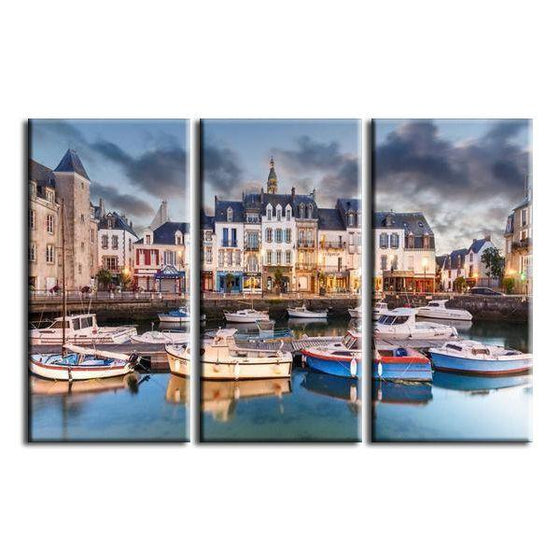 Canal Saint-Martin Canvas Wall Art Ideas
