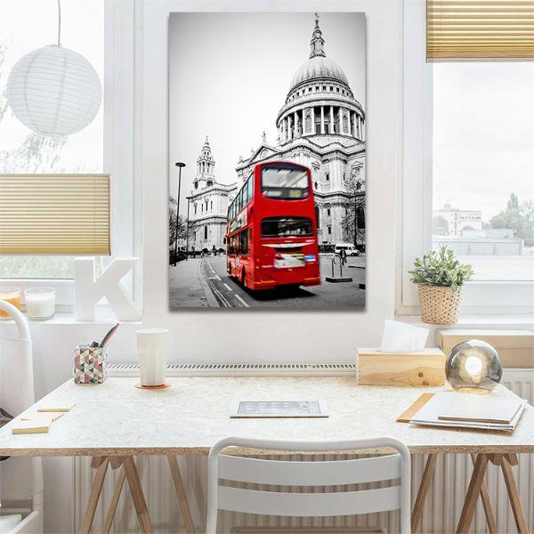 Shop St. Paul's Cathedral View Canvas Wall Art
