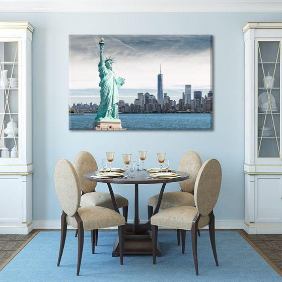 Statue Of Liberty Canvas Wall Art Decor