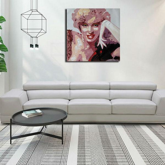 Stunning Marilyn Monroe Wall Art Canvas