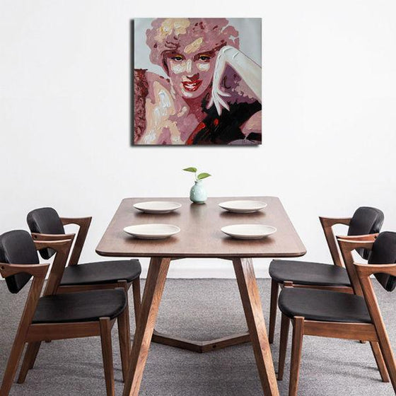 Stunning Marilyn Monroe Wall Art Dining Room