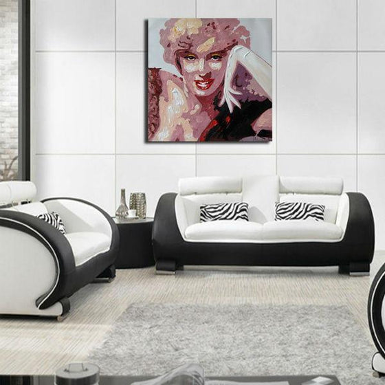 Stunning Marilyn Monroe Wall Art Living Room