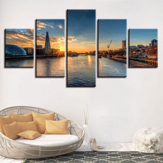 Sunrise Wood Wall Art Ideas