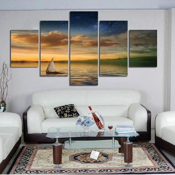 Sunset Canvas Wall Art Ideas