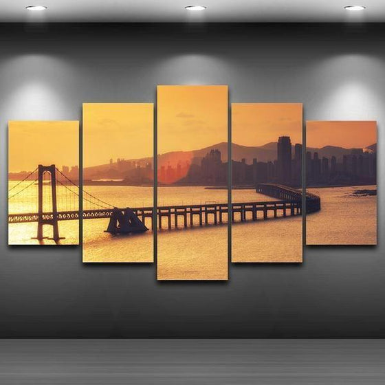 Sunset Canvas Wall Decor Prints