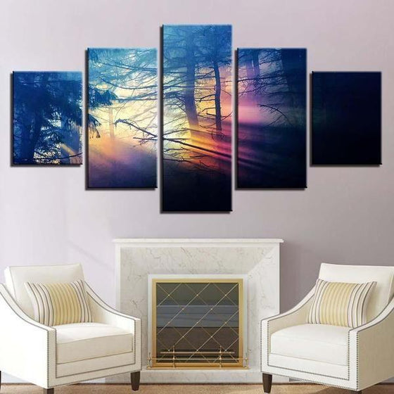 Sunset Wall Art Lavender