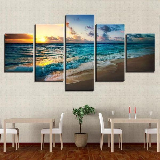 Sunset Wall Art Pink Ideas