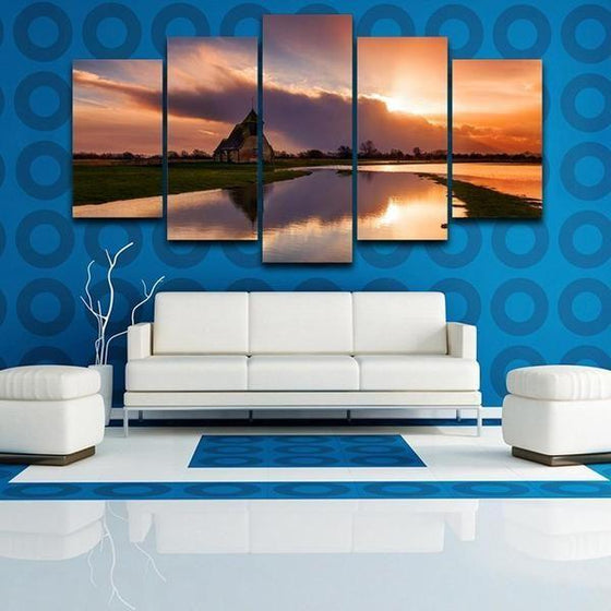Sunset Wall Art Tropical Decors