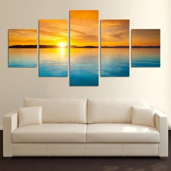 Sunset Wall Art Canvas Ideas
