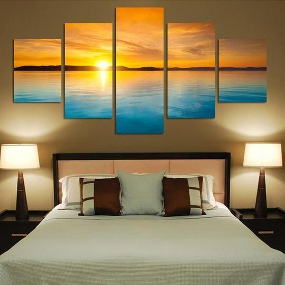 Sunset Wall Art Canvas Print