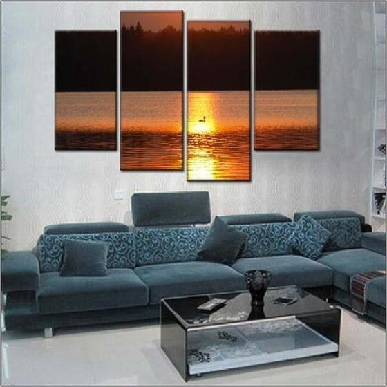 Sunset Wall Print Canvases