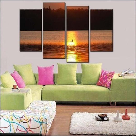 Sunset Wall Print Decor