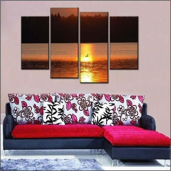 Sunset Wall Print Decors