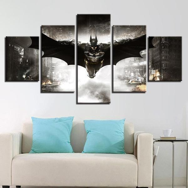 Superhero Framed Wall Art Canvases