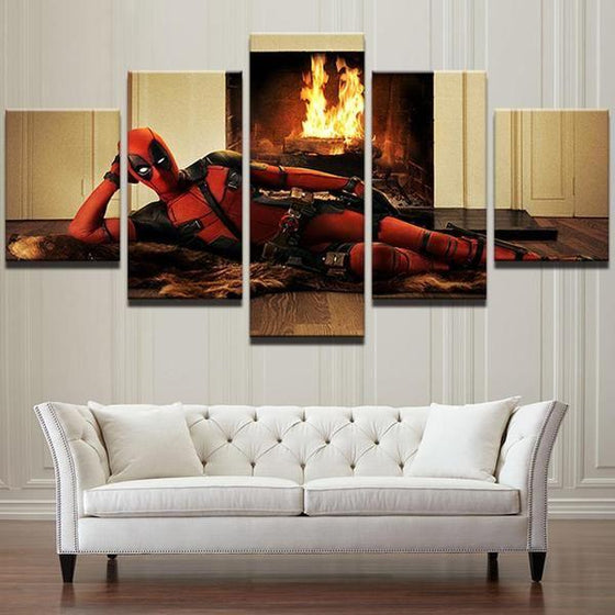 Deadpool Inspired Canvas Wall Art Decor