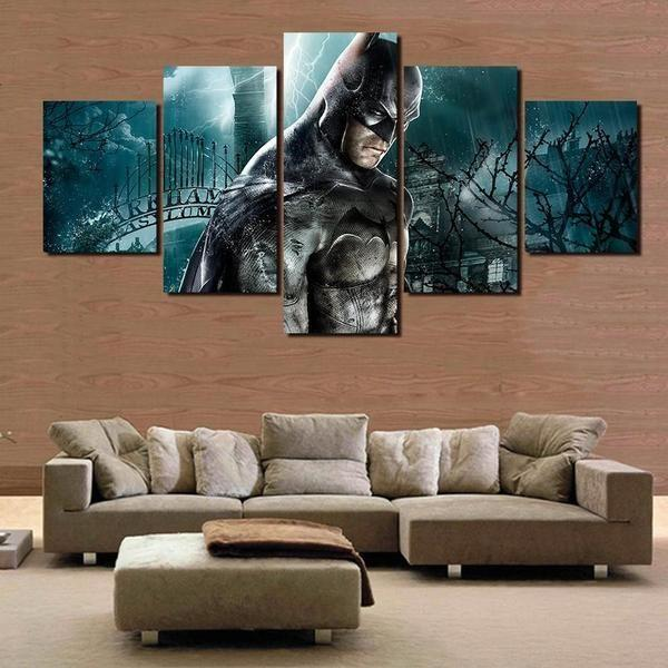 Superhero Wooden Wall Art Ideas