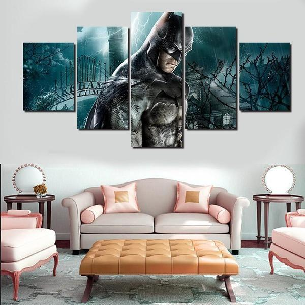 Superhero Wooden Wall Art Print