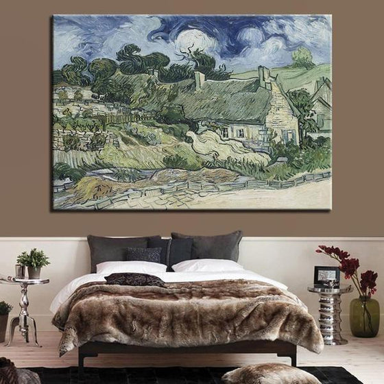 Thatched Cottages Cordeville Wall Art Bedroom