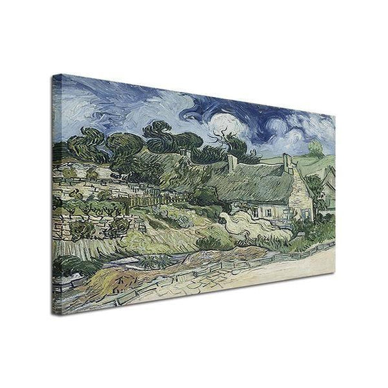 Thatched Cottages Cordeville Wall Art Decor