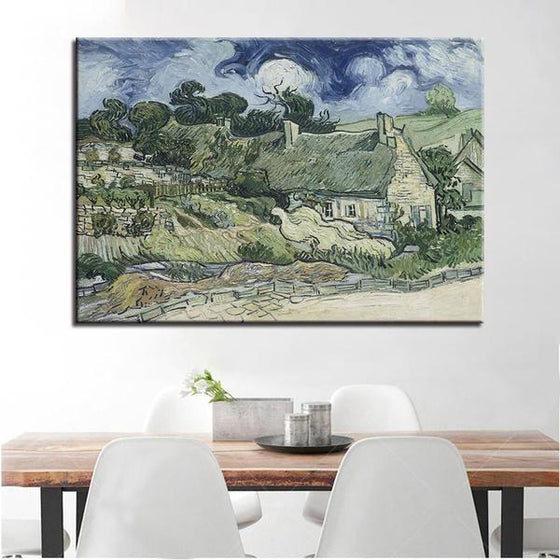 Thatched Cottages Cordeville Wall Art Dining Room
