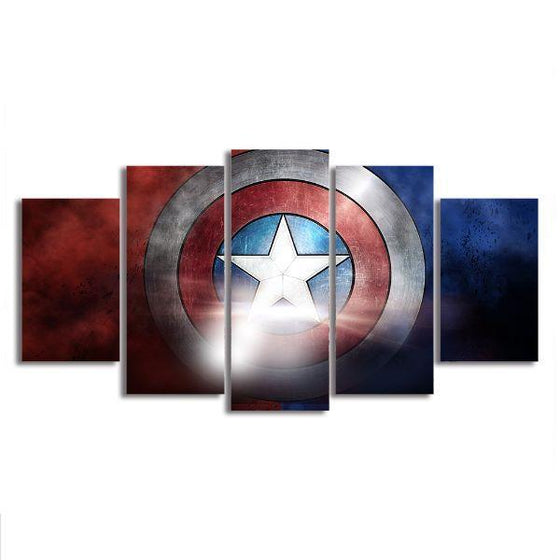 The Indestructible Shield Canvas Wall Art