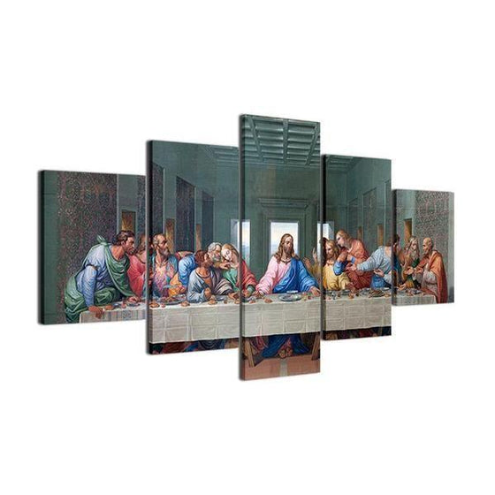 The Last Supper Canvas Wall Art Print
