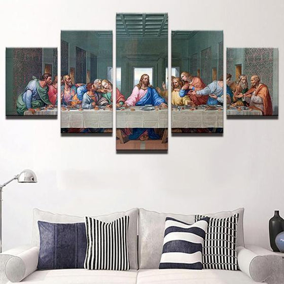 The Last Supper Canvas Wall Art Set