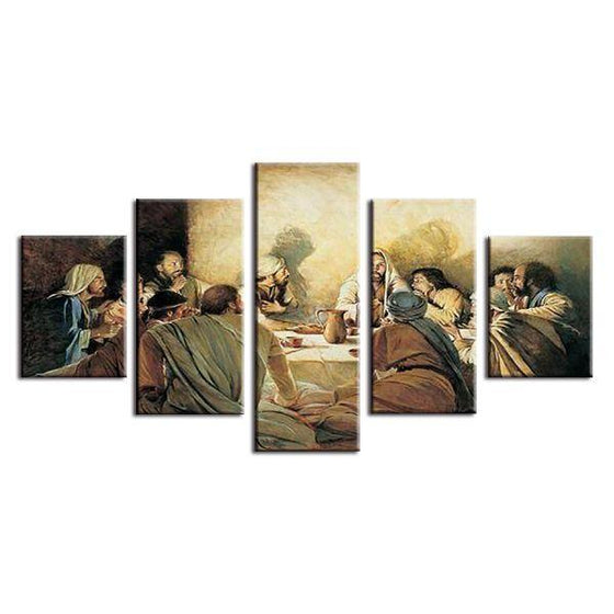 The Sacrament of the Last Supper Canvas Wall Art
