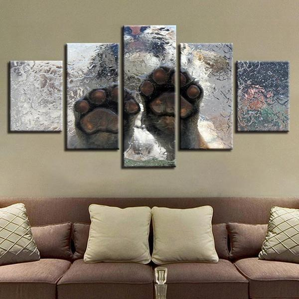 Tiger Metal Wall Art Canvas