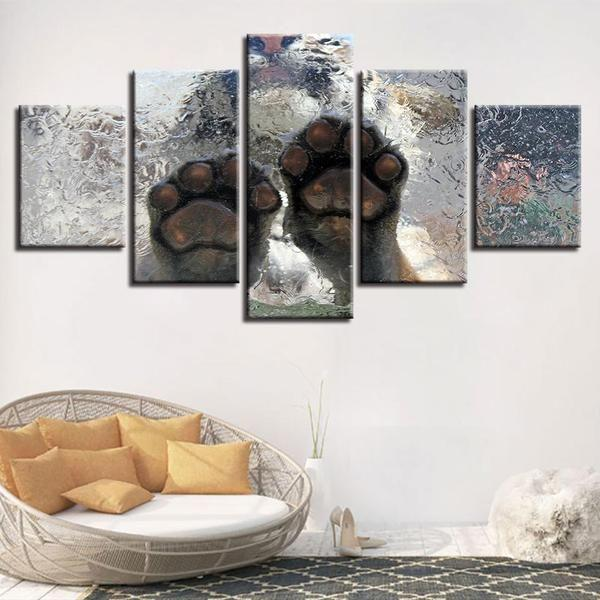 Tiger Metal Wall Art