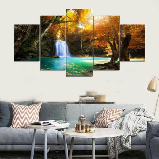 Trees Wall Art Canvases