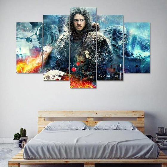 TV Shows Wall Art Print