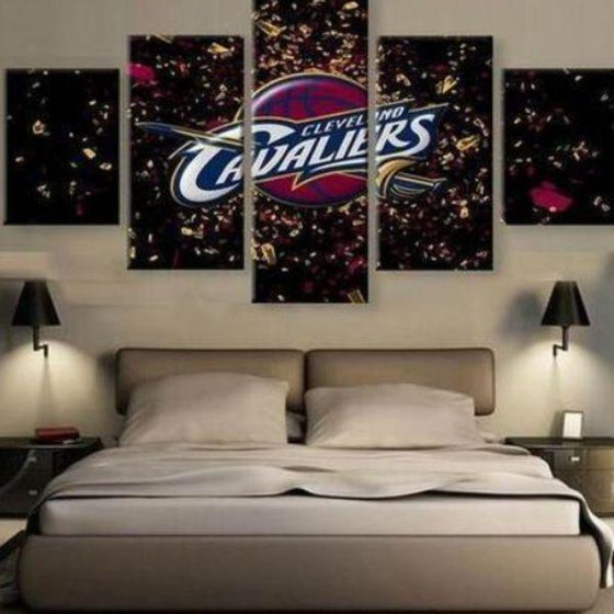 Cleveland Cavaliers Canvas Wall Art Bedroom
