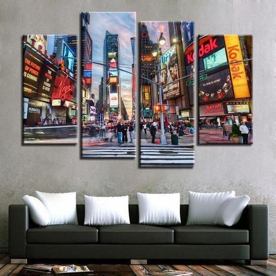 Urban Wall Art Canvas Decor