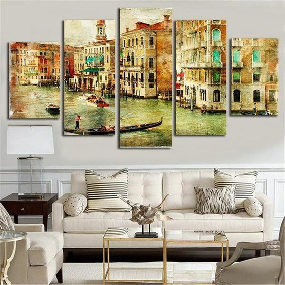 Urban Wall Art Canvas Print