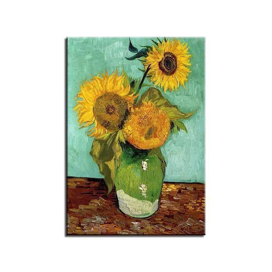 Van Gogh Sunflowers Canvas Prints