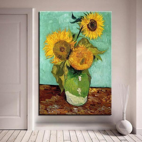 Van Gogh Sunflowers Wall Art