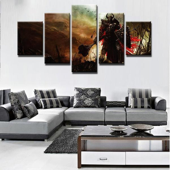 Diablo 3 Paladin Canvas Wall Art Home Decor