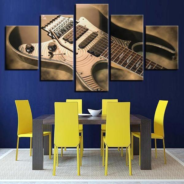 Wall Art About Music Canvas