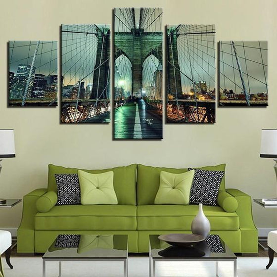 Wall Art Architectural Wooden Canvas