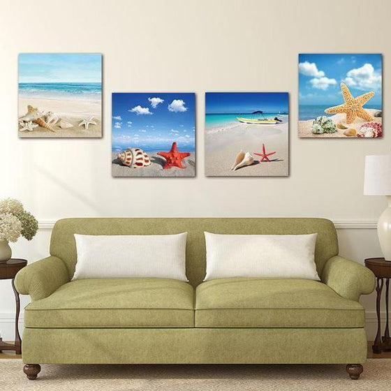 Wall Art Beach Prints Decor