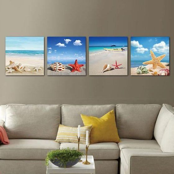 Wall Art Beach Prints Decors