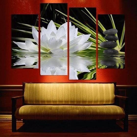 Wall Art Flowers Pictures Print