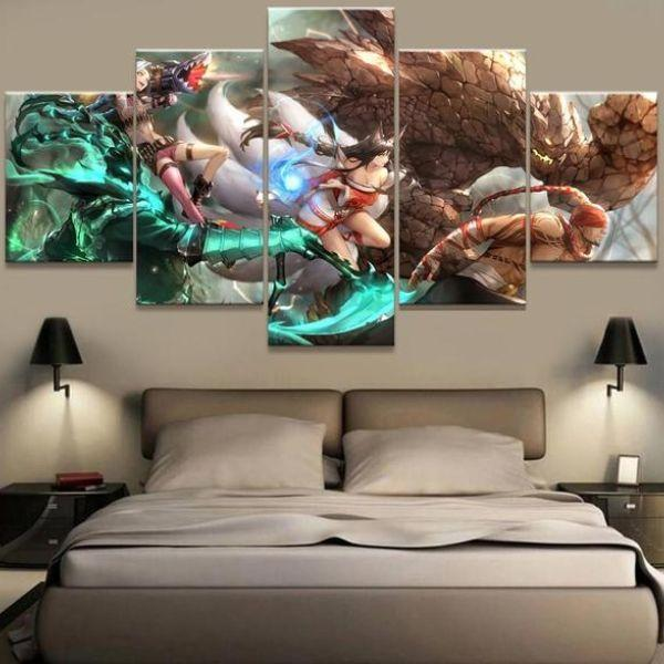 League Of Legends Inspired Game Canvas Wall Art — canvasx.net