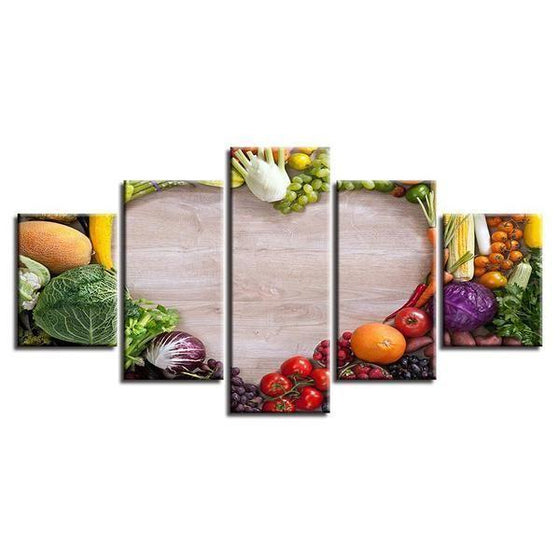 Wall Art Fruit And Vegetables Ideas
