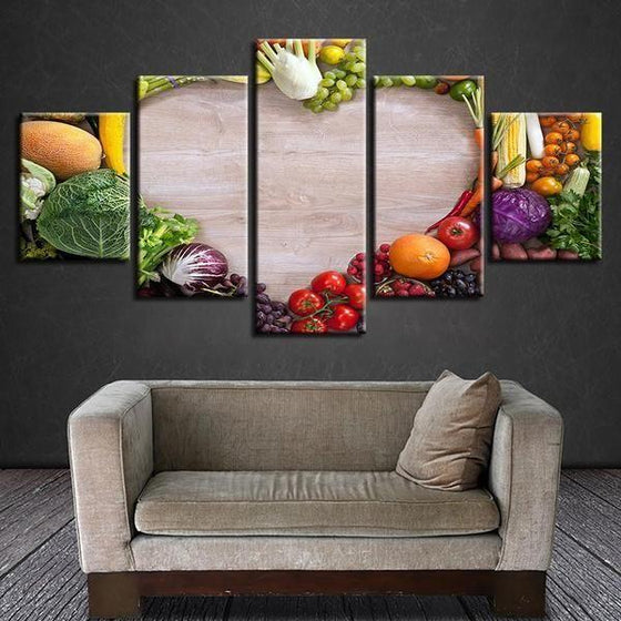 Wall Art Fruit And Vegetables