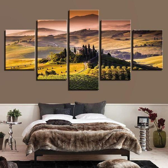 Wall Art Mountains Canvas