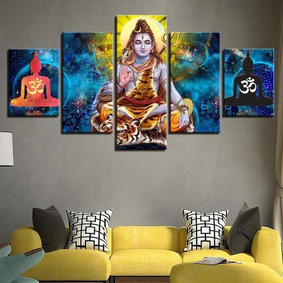 Wall Art Panels India Canvas