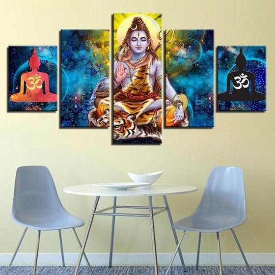 Wall Art Panels India Canvases