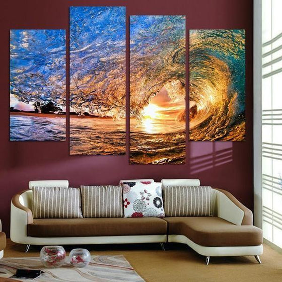 Wall Art Sunrise Metal Ideas